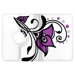 Awareness Flower Kindle Fire HDX 7  Flip 360 Case