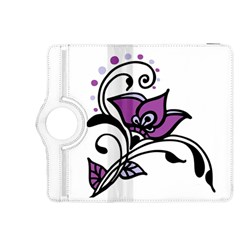 Awareness Flower Kindle Fire Hdx 8 9  Flip 360 Case