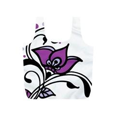 Awareness Flower Reusable Bag (S)