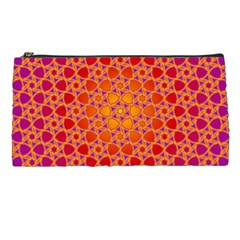 Radial Flower Pencil Case