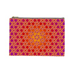 Radial Flower Cosmetic Bag (large)