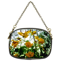 Yellow Flowers Chain Purse (one Side)