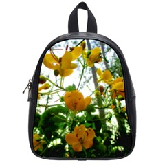 Yellow Flowers School Bag (small)