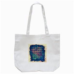 Led Zeppelin Symbols Tote Bag (White)