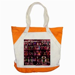 Physical Graffitied Accent Tote Bag