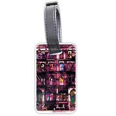 Physical Graffitied Luggage Tag (two Sides)