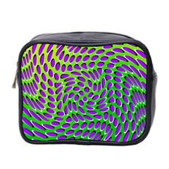 Illusion Delusion Mini Travel Toiletry Bag (two Sides)