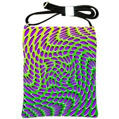 Illusion Delusion Shoulder Sling Bag
