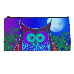 Moon Owl Pencil Case