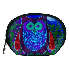 Moon Owl  Accessories Pouch (Medium)
