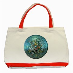 Led Zeppelin Iii Art Classic Tote Bag (red)