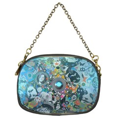 Led Zeppelin Iii Art Chain Purse (two Sided)