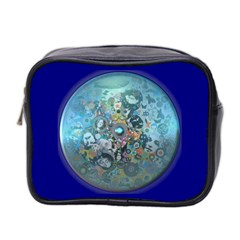 Led Zeppelin Iii Art Mini Travel Toiletry Bag (two Sides)