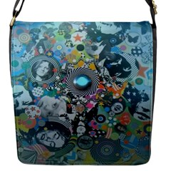 Led Zeppelin Iii Art Flap Closure Messenger Bag (small)