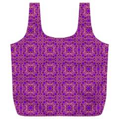 Purple Moroccan Pattern Reusable Bag (XL)