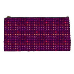 Funky Retro Pattern Pencil Case