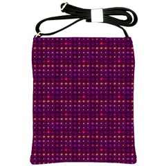 Funky Retro Pattern Shoulder Sling Bag