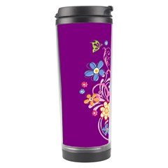Flowery Flower Travel Tumbler