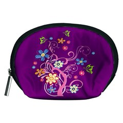 Flowery Flower Accessory Pouch (Medium)