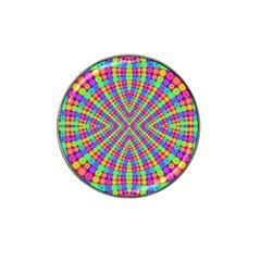 Many Circles Golf Ball Marker (for Hat Clip)