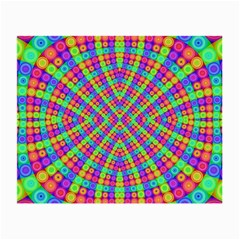 Many Circles Glasses Cloth (small, Two Sided)