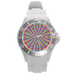 Many Circles Plastic Sport Watch (Large)