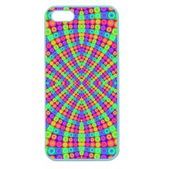 Many Circles Apple Seamless Iphone 5 Case (color)