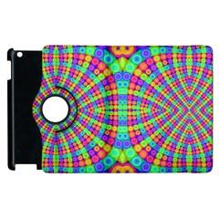 Many Circles Apple iPad 3/4 Flip 360 Case