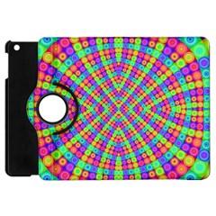 Many Circles Apple Ipad Mini Flip 360 Case