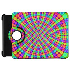 Many Circles Kindle Fire HD 7  (1st Gen) Flip 360 Case