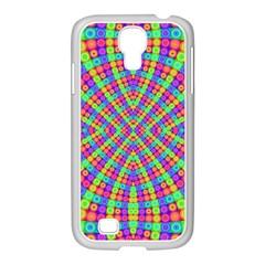 Many Circles Samsung GALAXY S4 I9500/ I9505 Case (White)