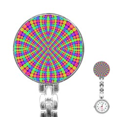 Many Circles Stainless Steel Nurses Watch