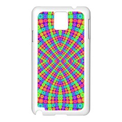 Many Circles Samsung Galaxy Note 3 N9005 Case (White)