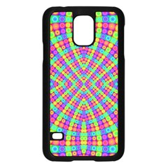Many Circles Samsung Galaxy S5 Case (black)