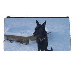 Snowy Gsd Pencil Case