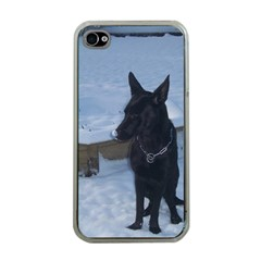 Snowy Gsd Apple Iphone 4 Case (clear)
