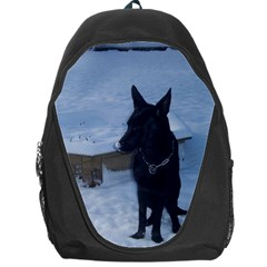 Snowy Gsd Backpack Bag