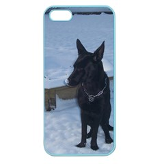 Snowy Gsd Apple Seamless Iphone 5 Case (color)