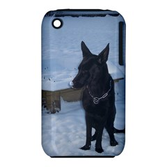 Snowy Gsd Apple iPhone 3G/3GS Hardshell Case (PC+Silicone)