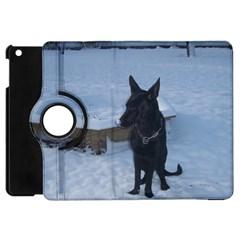 Snowy Gsd Apple Ipad Mini Flip 360 Case