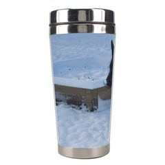 Snowy Gsd Stainless Steel Travel Tumbler