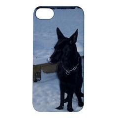 Snowy Gsd Apple iPhone 5S Hardshell Case