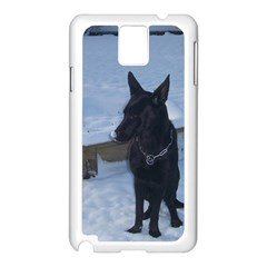 Snowy Gsd Samsung Galaxy Note 3 N9005 Case (White)
