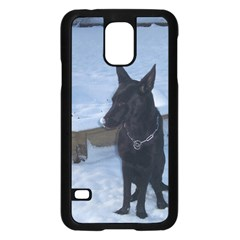 Snowy Gsd Samsung Galaxy S5 Case (Black)