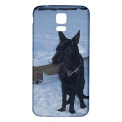 Snowy Gsd Samsung Galaxy S5 Back Case (White)