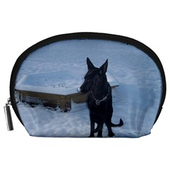Snowy Gsd Accessory Pouch (Large)
