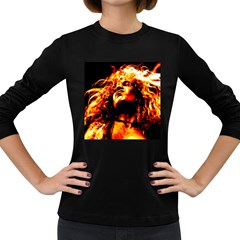 Golden God Women s Long Sleeve T-shirt (Dark Colored)