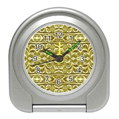 Gold Plated Ornament Desk Alarm Clock