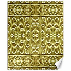 Gold Plated Ornament Canvas 16  x 20  (Unframed)