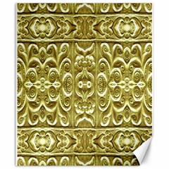 Gold Plated Ornament Canvas 20  X 24  (unframed)